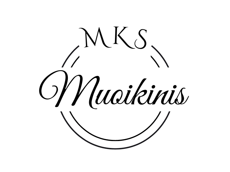 Muoikinis logo design by Ellie Curie