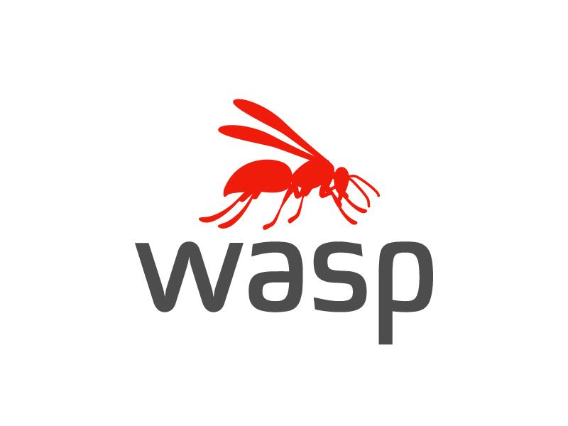 wasp logo design by jaize