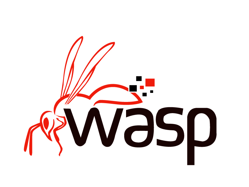 wasp logo design by PMG