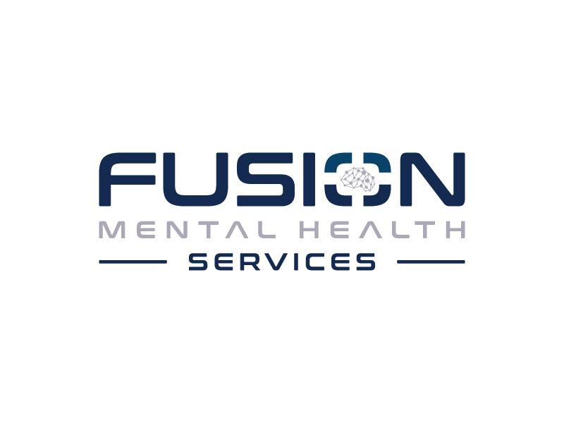 Fusion Mental Health Services logo design by aganpiki