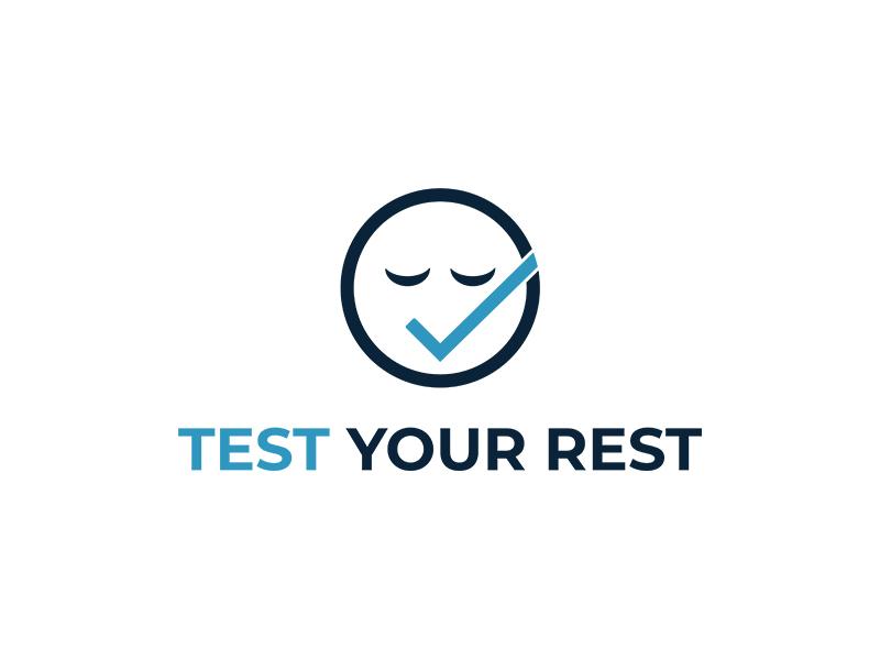 Test Your Rest logo design by planoLOGO