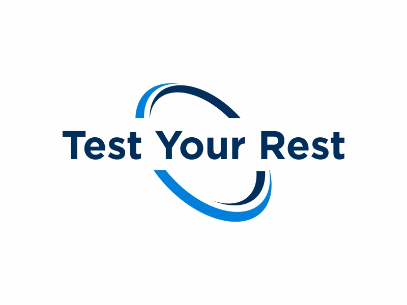 Test Your Rest logo design by Greenlight