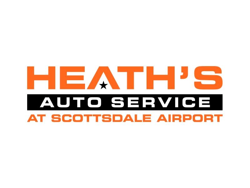 Heath's Auto at Scottsdale Airport logo design by cintoko