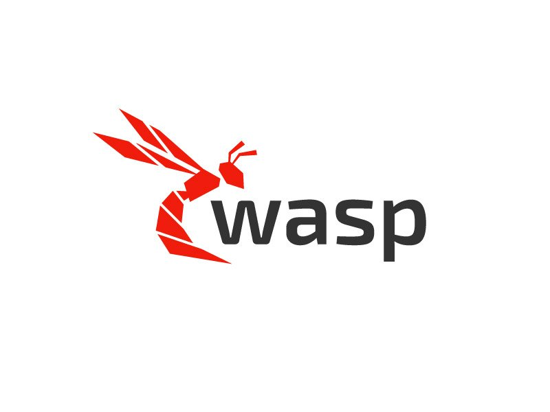 wasp logo design by graphica