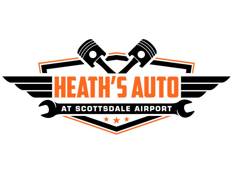 Heath's Auto at Scottsdale Airport logo design by jaize