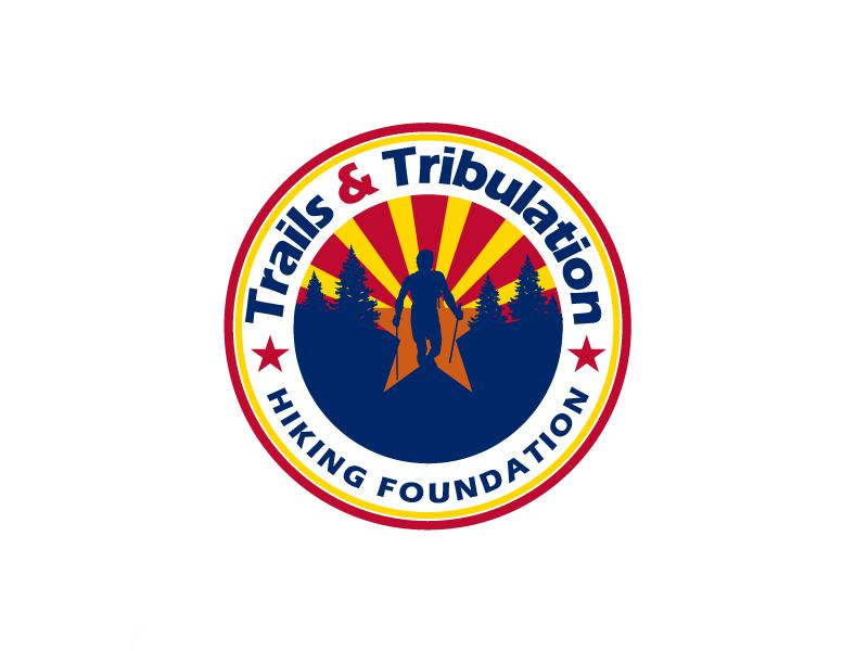 Trails & Tribulation Hiking Foundation logo design by aRBy