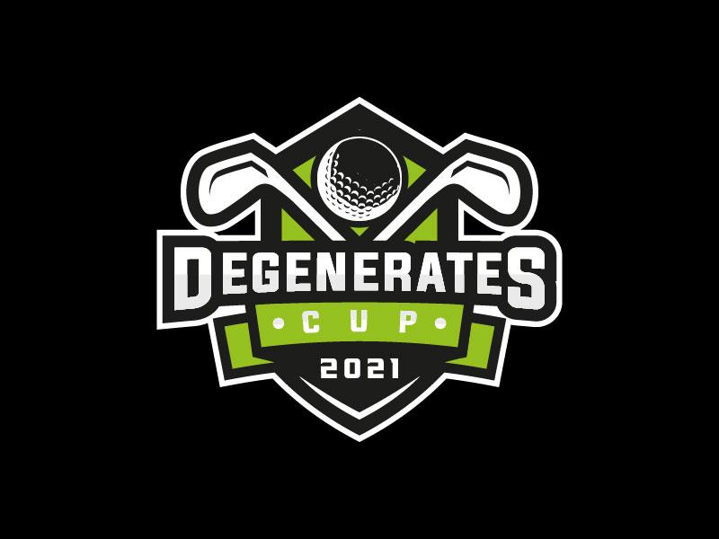 Degenerates Cup 2021 logo design by M Fariid