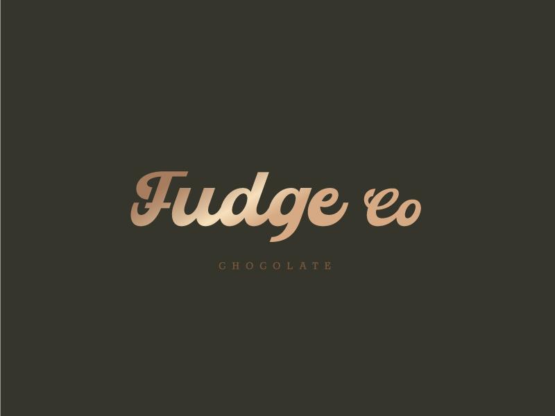 Fudge Co logo design by emberdezign