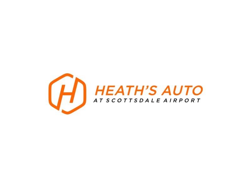 Heath's Auto at Scottsdale Airport logo design by kurnia