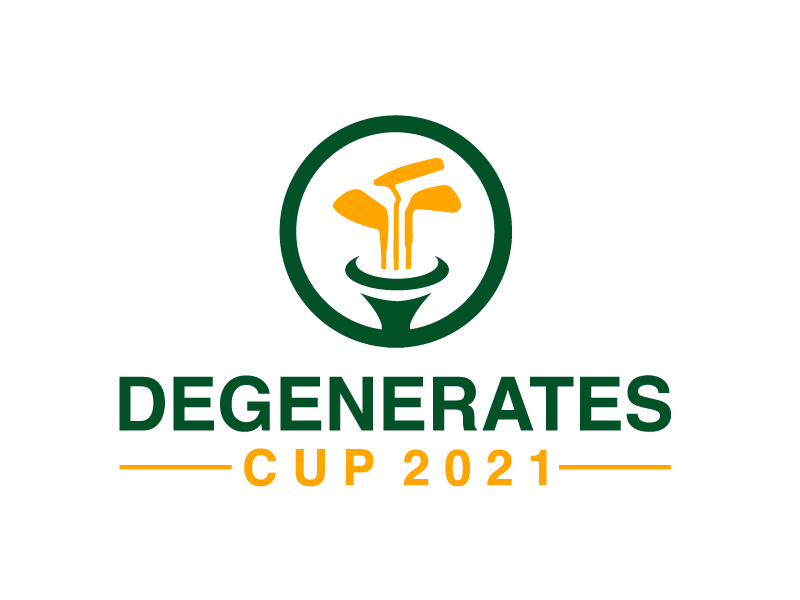 Degenerates Cup 2021 logo design by Marianne