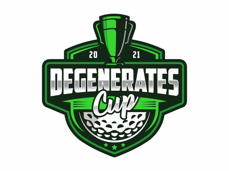 Degenerates Cup 2021 logo design by Mardhi