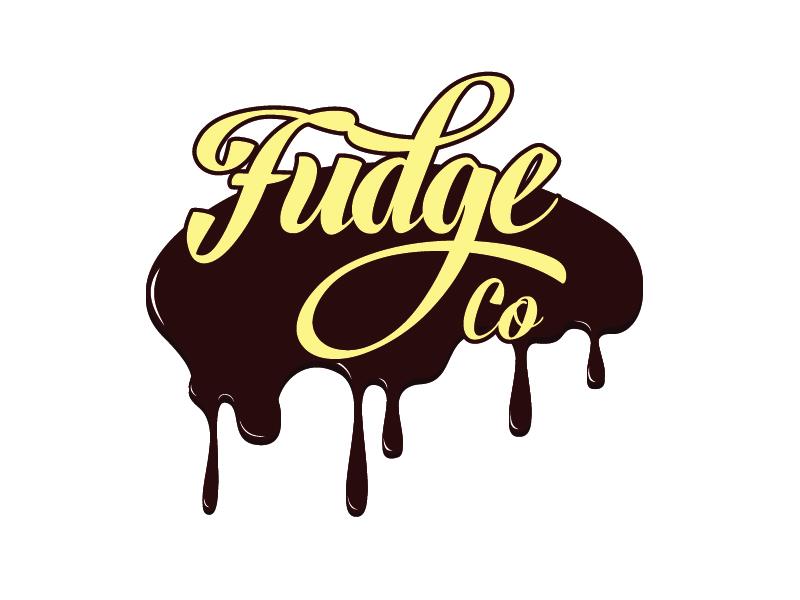 Fudge Co logo design by Carli Yario Lindahl
