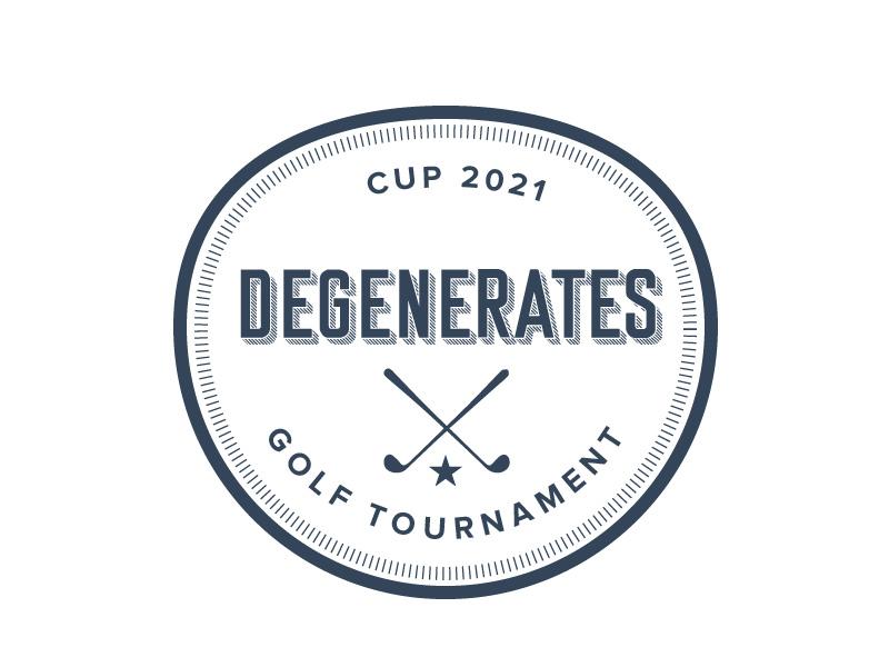 Degenerates Cup 2021 logo design by czars