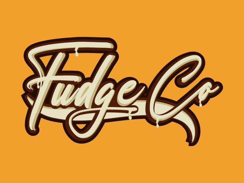Fudge Co logo design by Erasedink