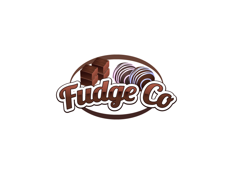 Fudge Co logo design by uttam
