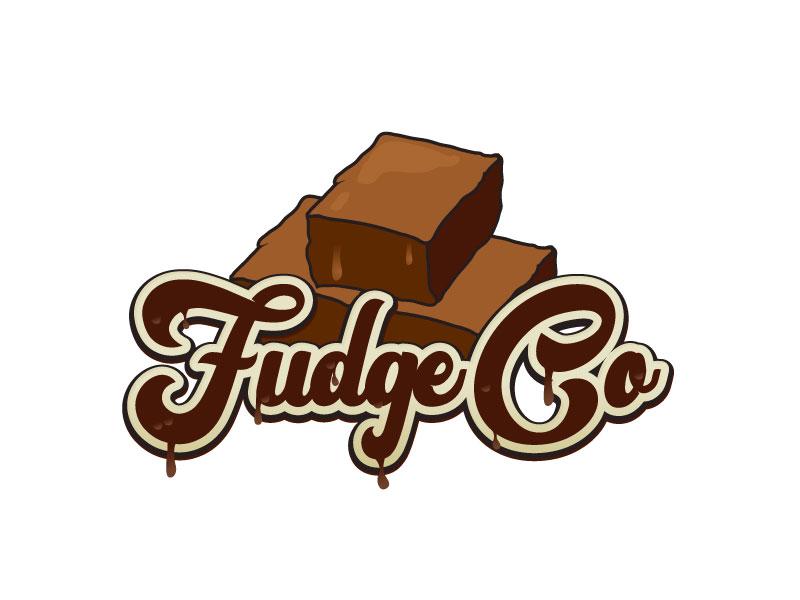 Fudge Co logo design by LogoInvent
