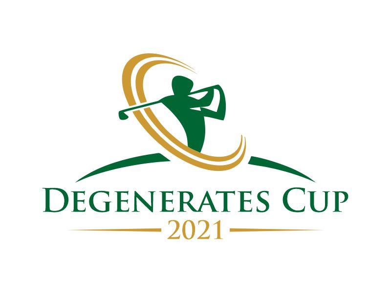 Degenerates Cup 2021 logo design by Gwerth