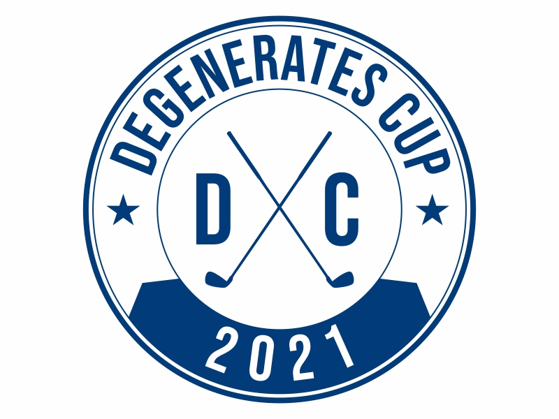 Degenerates Cup 2021 logo design by Greenlight
