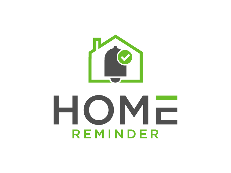 Home Reminder logo design by my!dea