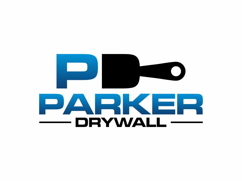 Parker Drywall logo design by Franky.
