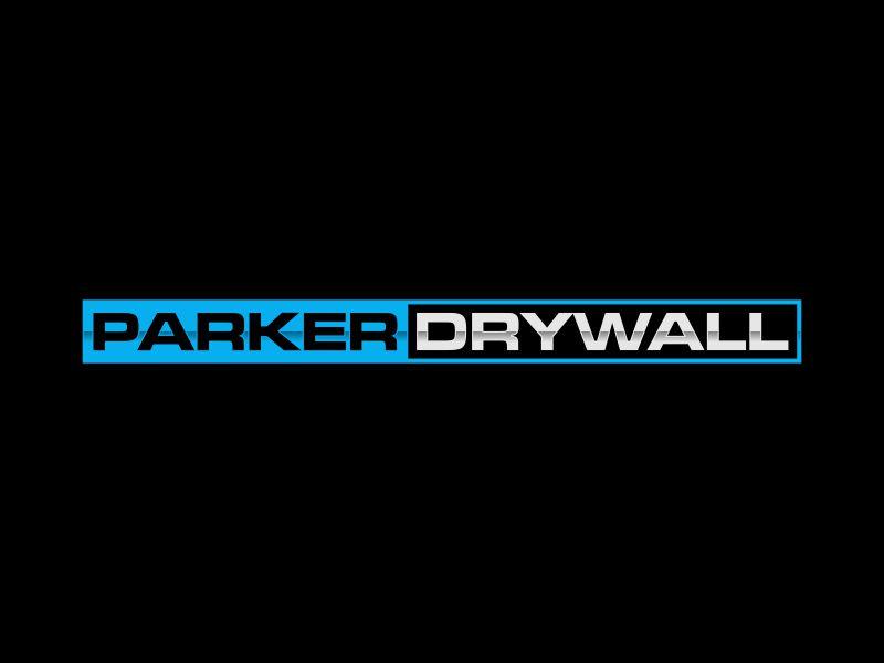 Parker Drywall logo design by haidar