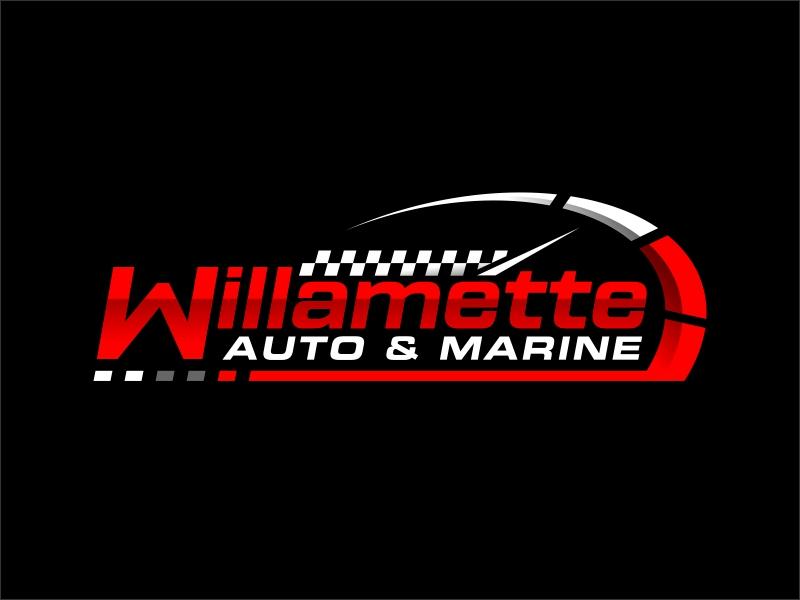 Willamette Auto & Marine logo design by ingepro