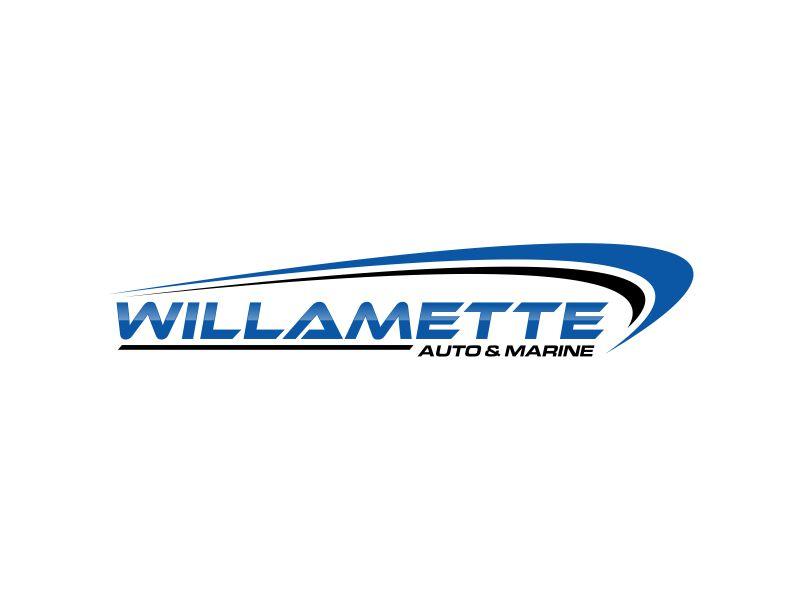Willamette Auto & Marine logo design by fadlan