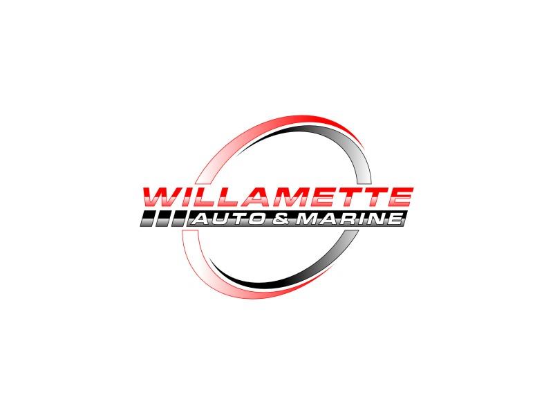 Willamette Auto & Marine logo design by Diponegoro_