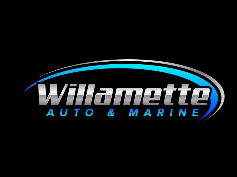 Willamette Auto & Marine logo design by jaize