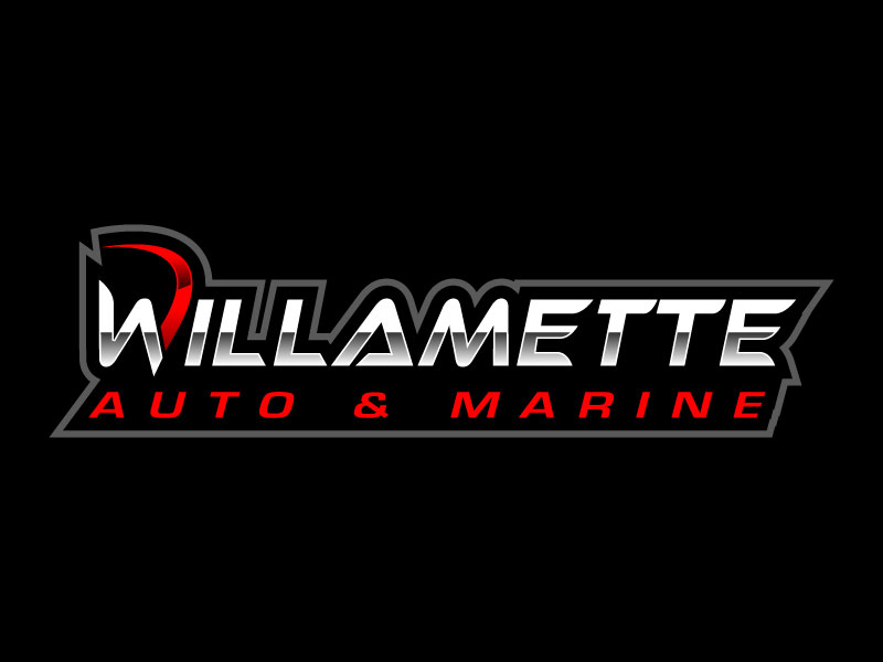 Willamette Auto & Marine logo design by jishu