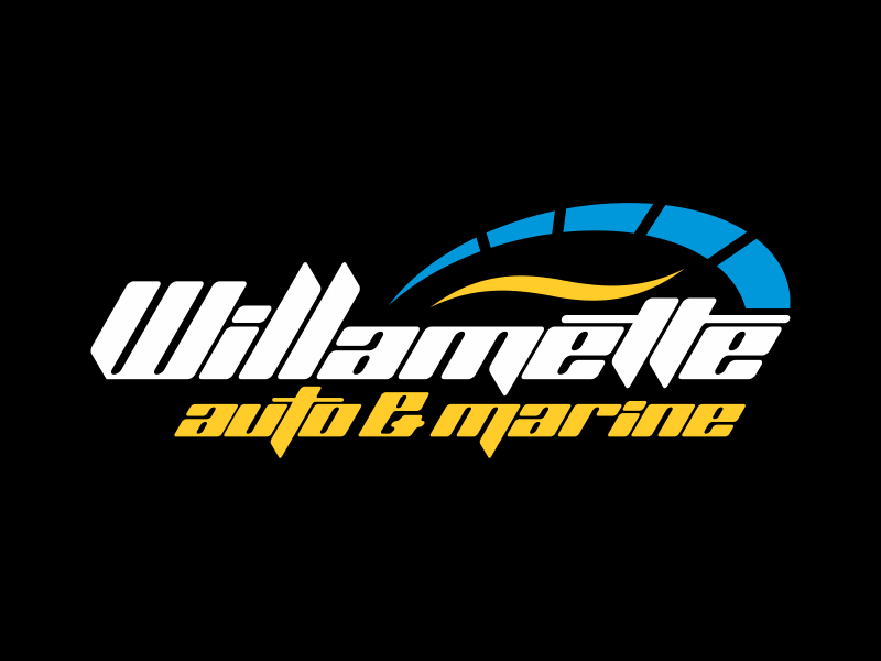 Willamette Auto & Marine logo design by cikiyunn