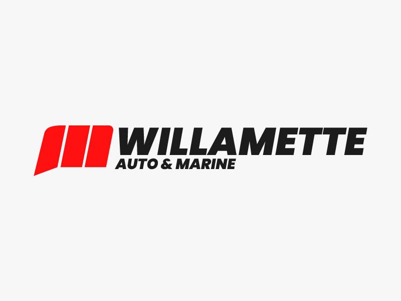 Willamette Auto & Marine logo design by Sami Ur Rab