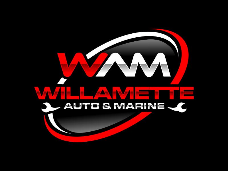 Willamette Auto & Marine logo design by imagine