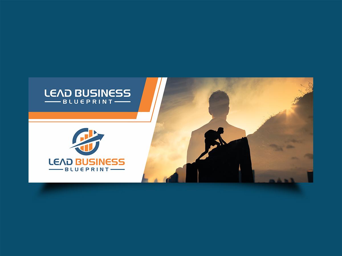 Lead Business Blueprint logo design by Thuwan Aslam Haris