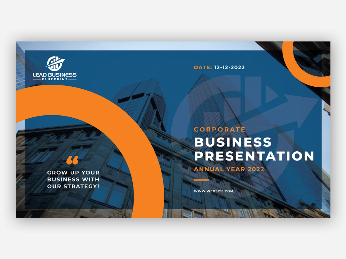 Lead Business Blueprint logo design by yondi