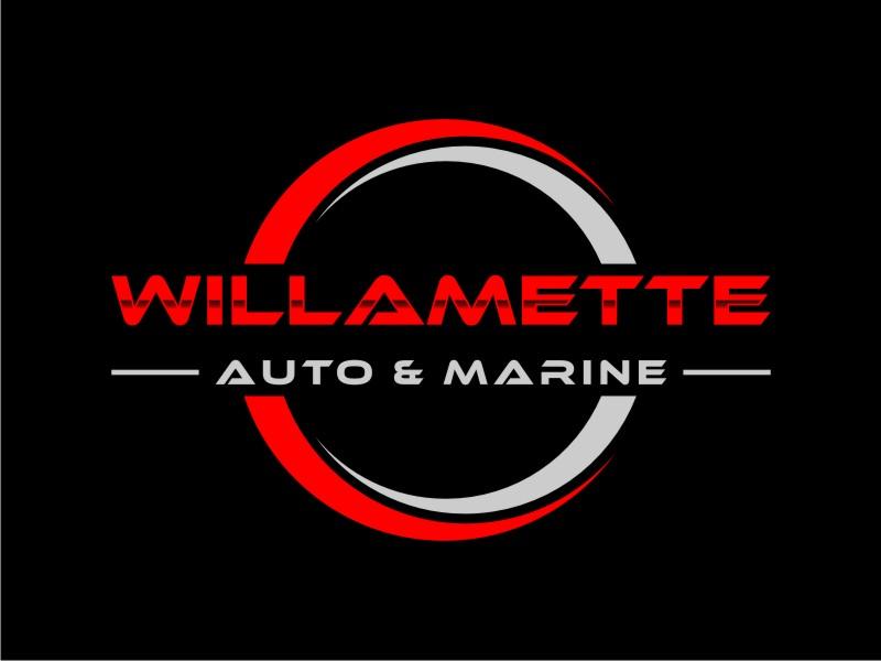 Willamette Auto & Marine logo design by KQ5