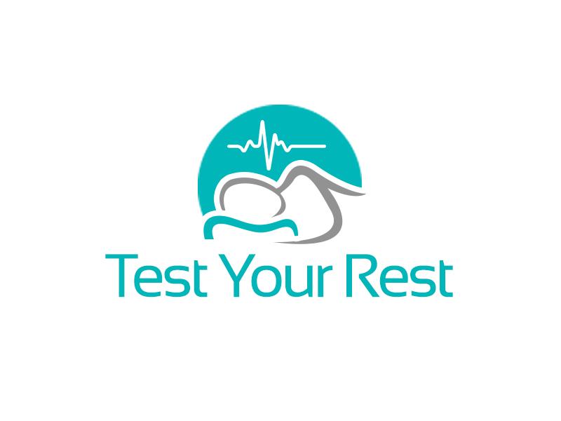 Test Your Rest logo design by kunejo
