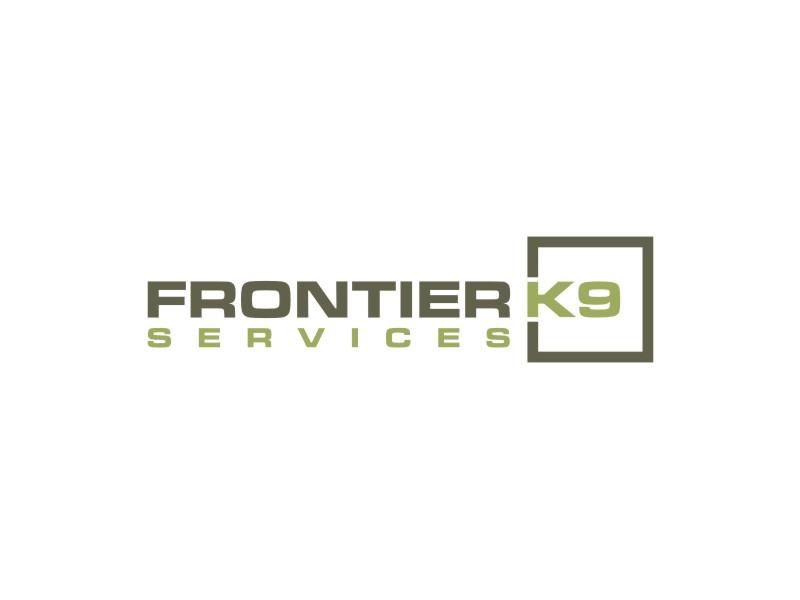 Frontier Tactical K9 Services logo design by carman