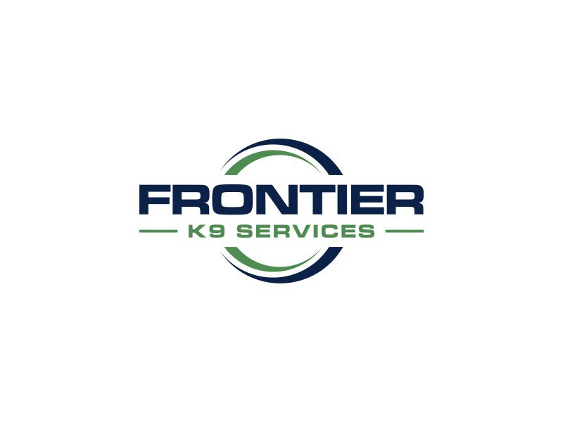 Frontier Tactical K9 Services logo design by p0peye
