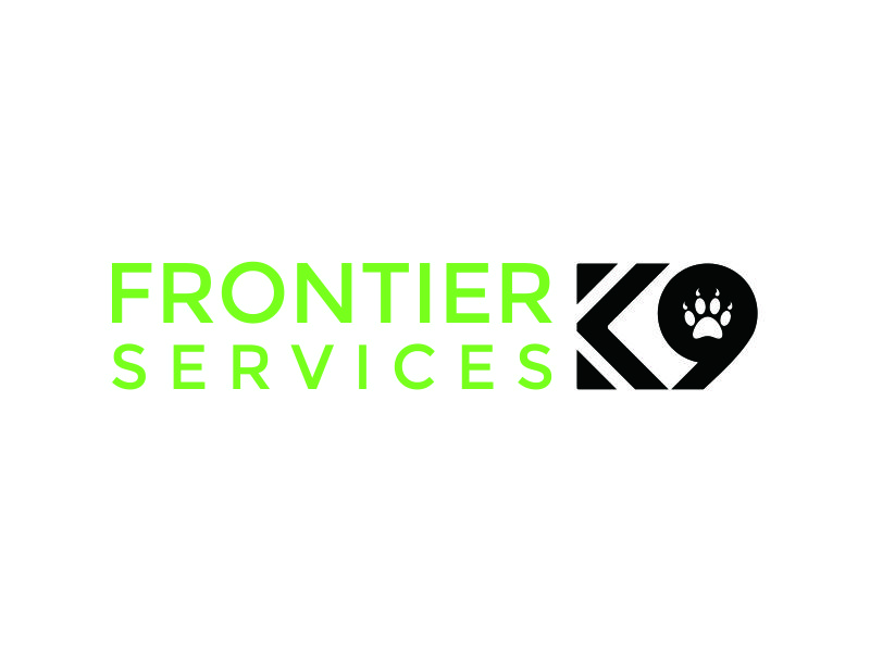 Frontier Tactical K9 Services logo design by azizah