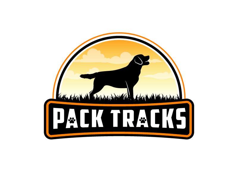 Pack Tracks logo design by Kirito