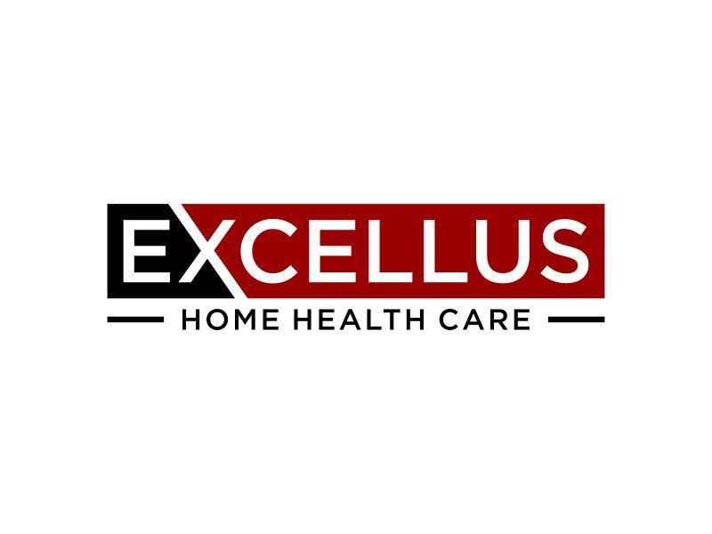 excellus home health care logo design by p0peye