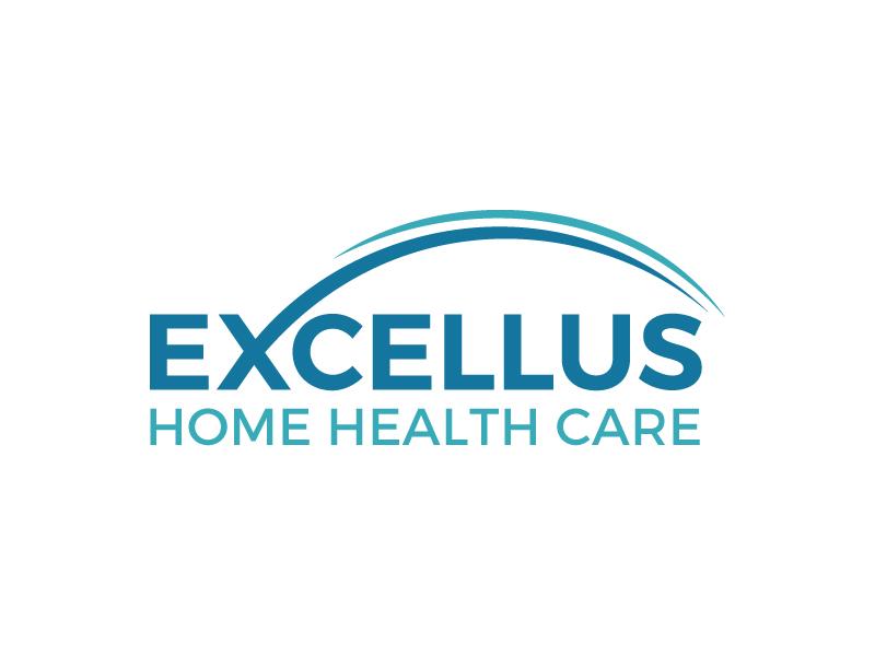 excellus home health care logo design by gilkkj