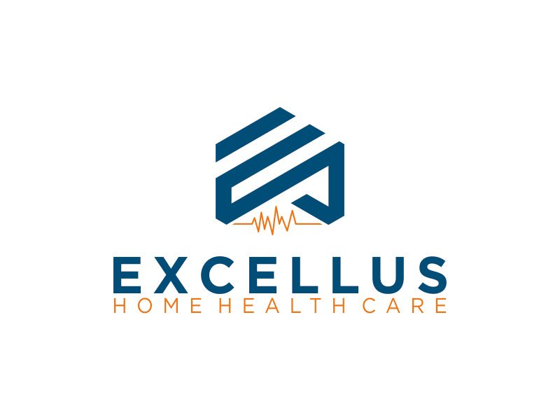 excellus home health care logo design by HERO_art 86