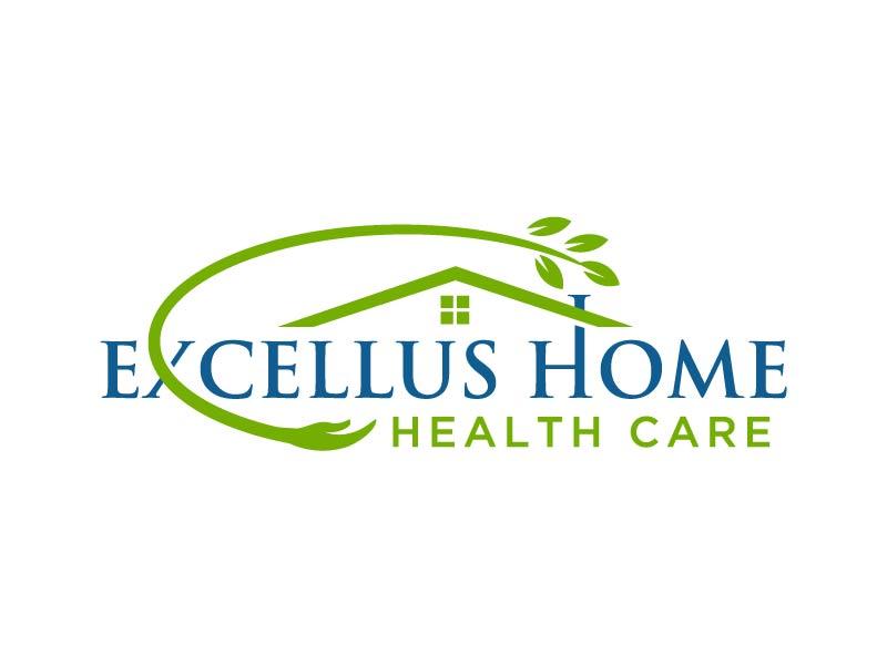 excellus home health care logo design by Andri