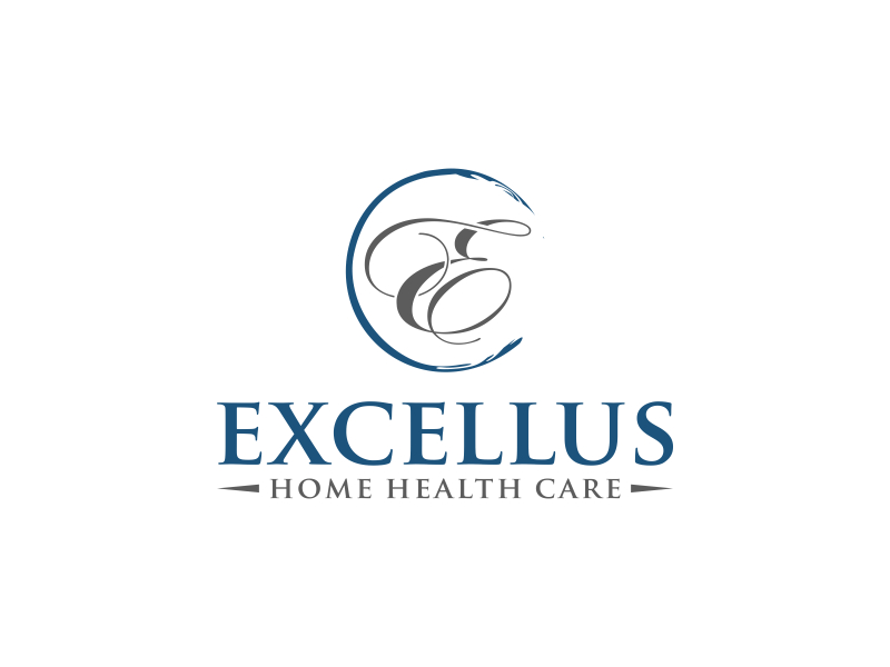 excellus home health care logo design by imagine