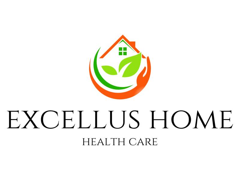 excellus home health care logo design by jetzu