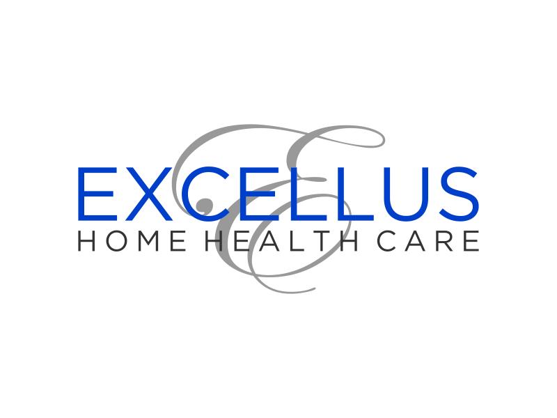 excellus home health care logo design by puthreeone