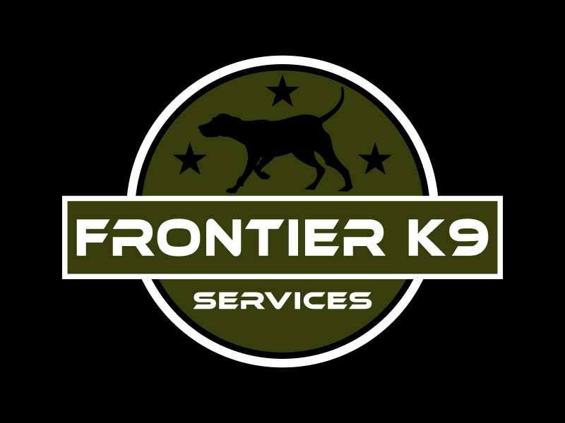 Frontier Tactical K9 Services logo design by aryamaity