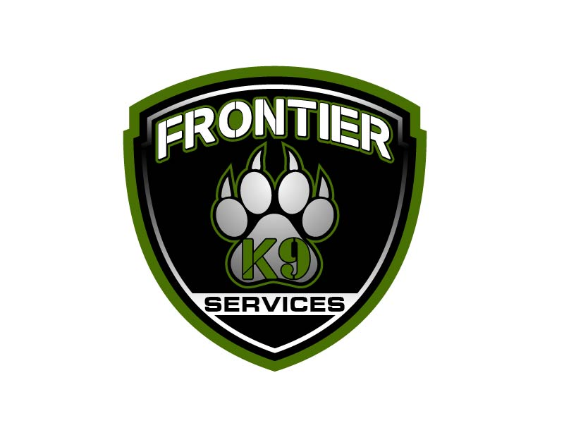 Frontier Tactical K9 Services logo design by axel182
